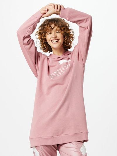 PUMA Sweat-Kleid in rosa / weiß, Modelansicht