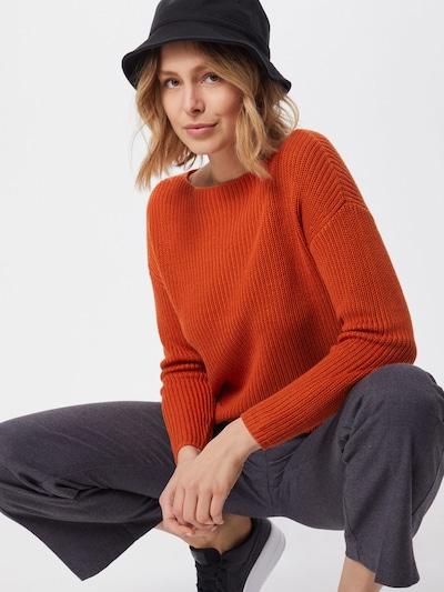 ONLY Trui 'MARINA' in de kleur Oranjerood, Modelweergave
