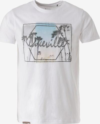 Lakeville Mountain T-Shirt 'Biu II' in weiß, Produktansicht