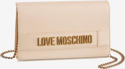 Love Moschino Clutch in naturweiß, Produktansicht
