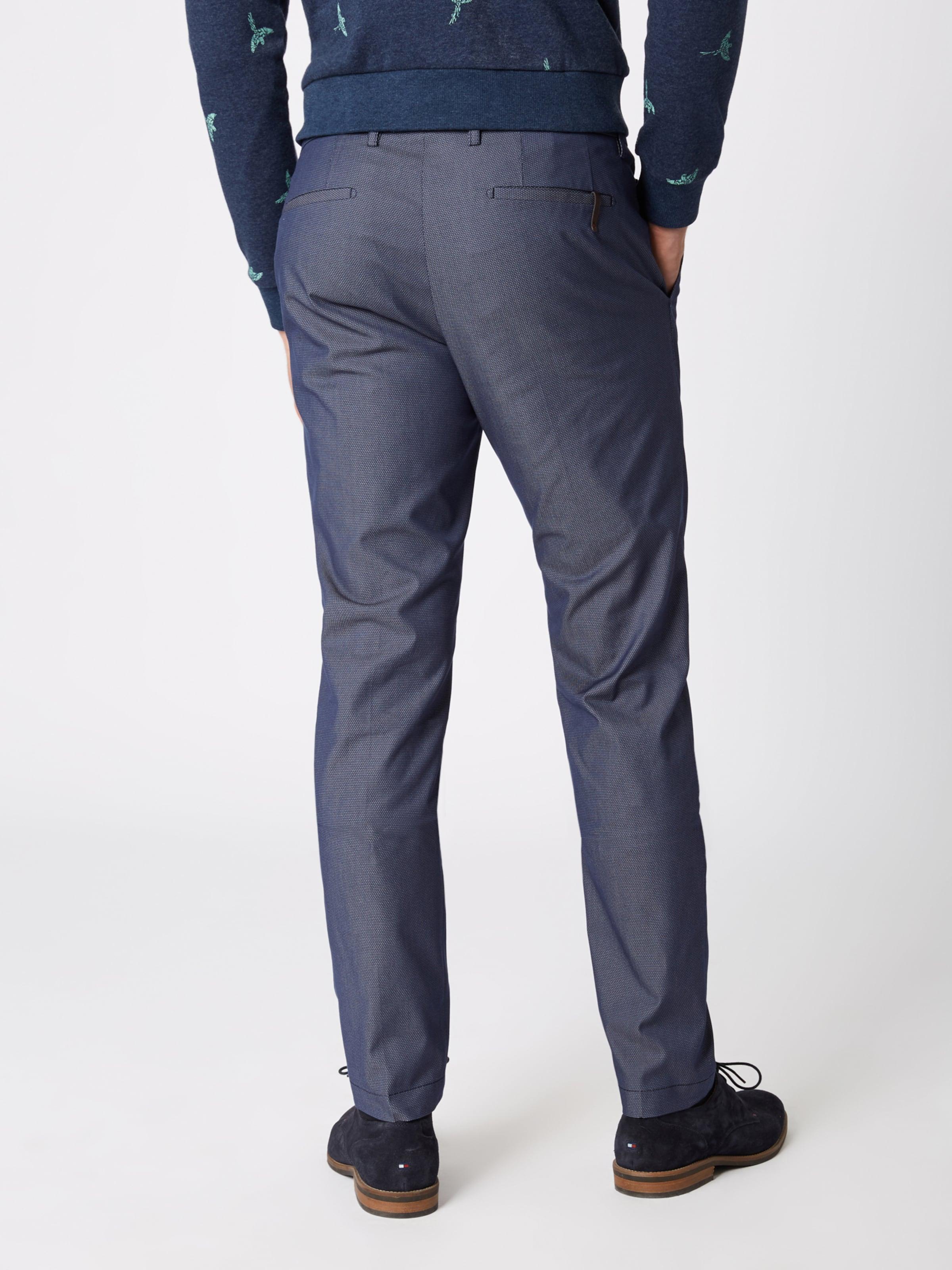 Foncé Pantalon En 'cibravo' Chino Bleu Cinque 8NmwOvn0