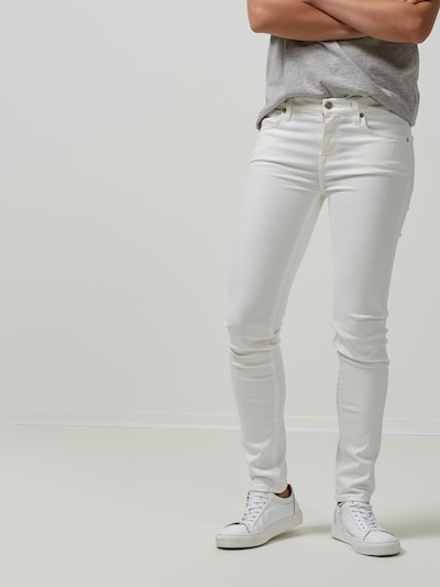 SELECTED FEMME Jeans in weiß, Modelansicht