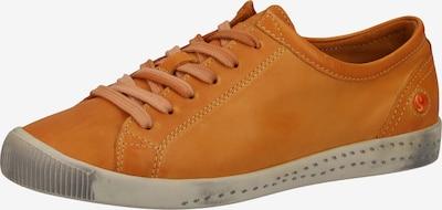 Softinos Sneaker in orange, Produktansicht