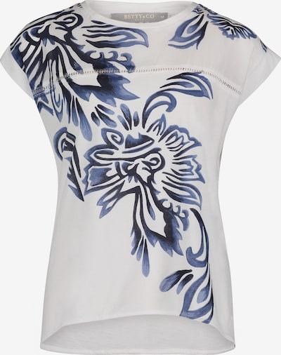 Betty & Co Shirt in de kleur Blauw / Wit, Productweergave