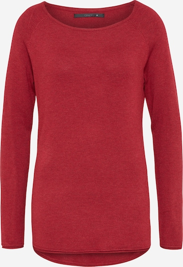 ONLY Pull-over 'ONLMila' en rouge, Vue avec produit