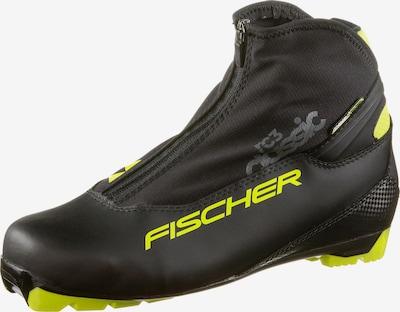 FISCHER Langlaufschuhe 'RC3 CLASSIC' in gelb / schwarz, Produktansicht