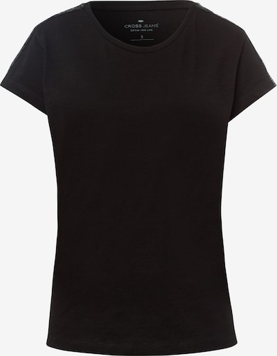 Cross Jeans Shirt in schwarz, Produktansicht