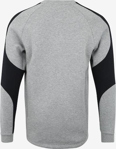 PUMA Sportsweatshirt 'Evostripe Crew' in grau / schwarz: Rückansicht