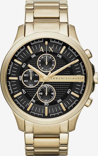 Emporio Armani Uhr in gold / schwarz, Produktansicht