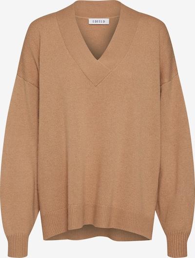 EDITED Pullover mit Kaschmiranteil 'Palila' in camel, Produktansicht