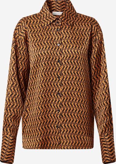 InWear Shirt 'PaulineI' in braun / schwarz, Produktansicht