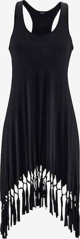 BEACH TIME Plážové šaty - Čierna