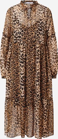 NA-KD Kleid in braun / hellbraun / schwarz, Produktansicht