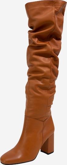 Cizme peste genunchi 'Martje' EDITED pe maro / coniac, Vizualizare produs
