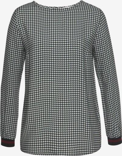TAMARIS Bluse in schwarz / weiß, Produktansicht
