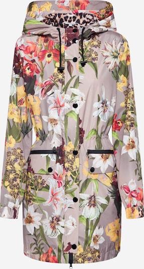 Frogbox Mantel 'WILD FLOWER' in beige / braun, Produktansicht