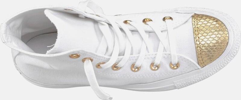 CONVERSE Sneaker 'Chuck Taylor All Star Metallic Toecap Hi'