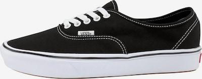 VANS Sneaker 'ComfyCush Authentic' in schwarz / weiß: Frontalansicht