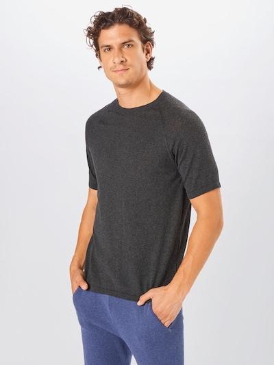 Tricou NU-IN pe gri metalic: Privire frontală