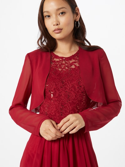 SWING Bolero in wine red, View model