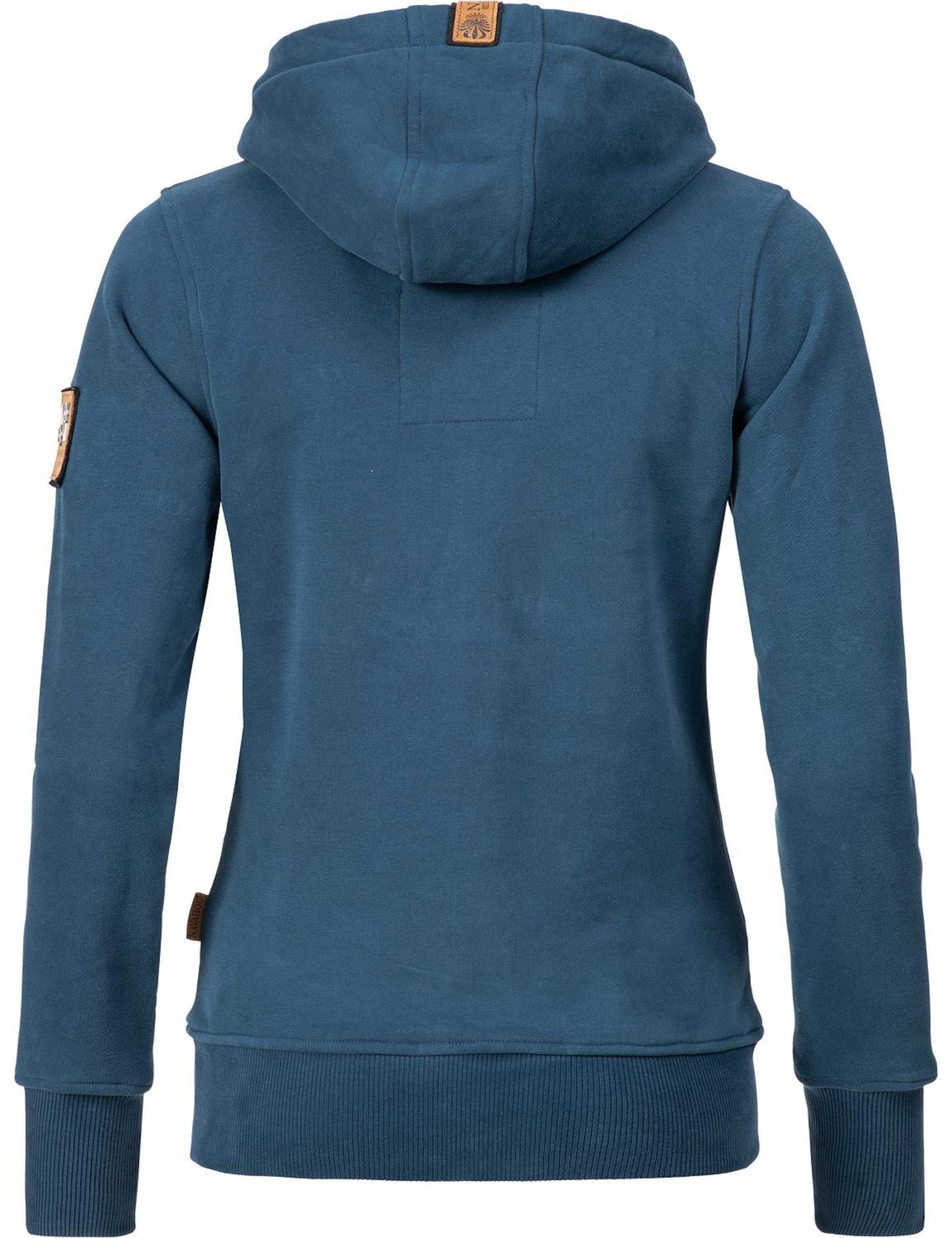 In Sweatshirt HimmelblauBraun Weiß Navahoo 'damlaa' fbv7g6Yy