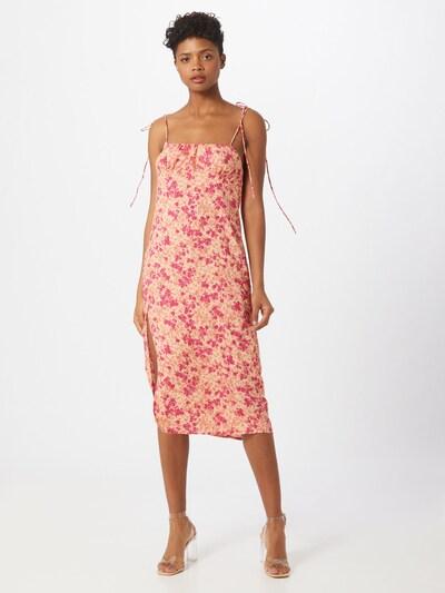 Motel Šaty 'Lotie' - ružová / svetloružová: Pohľad spredu