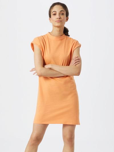 Urban Classics Kleid in orange, Modelansicht