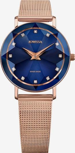 JOWISSA Analoog horloge 'Facet' in de kleur Blauw / Rose-goud, Productweergave