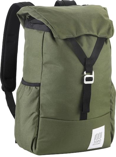 Topo Designs Rucksack in oliv, Produktansicht
