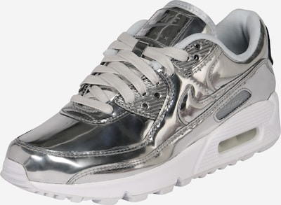 Nike Sportswear Nizke superge 'AIR MAX 90 SP' | srebrna barva: Frontalni pogled