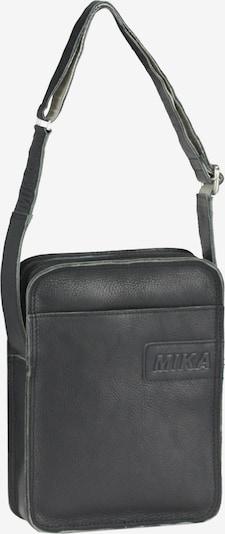 MIKA Umhängetasche in schwarz: Frontalansicht