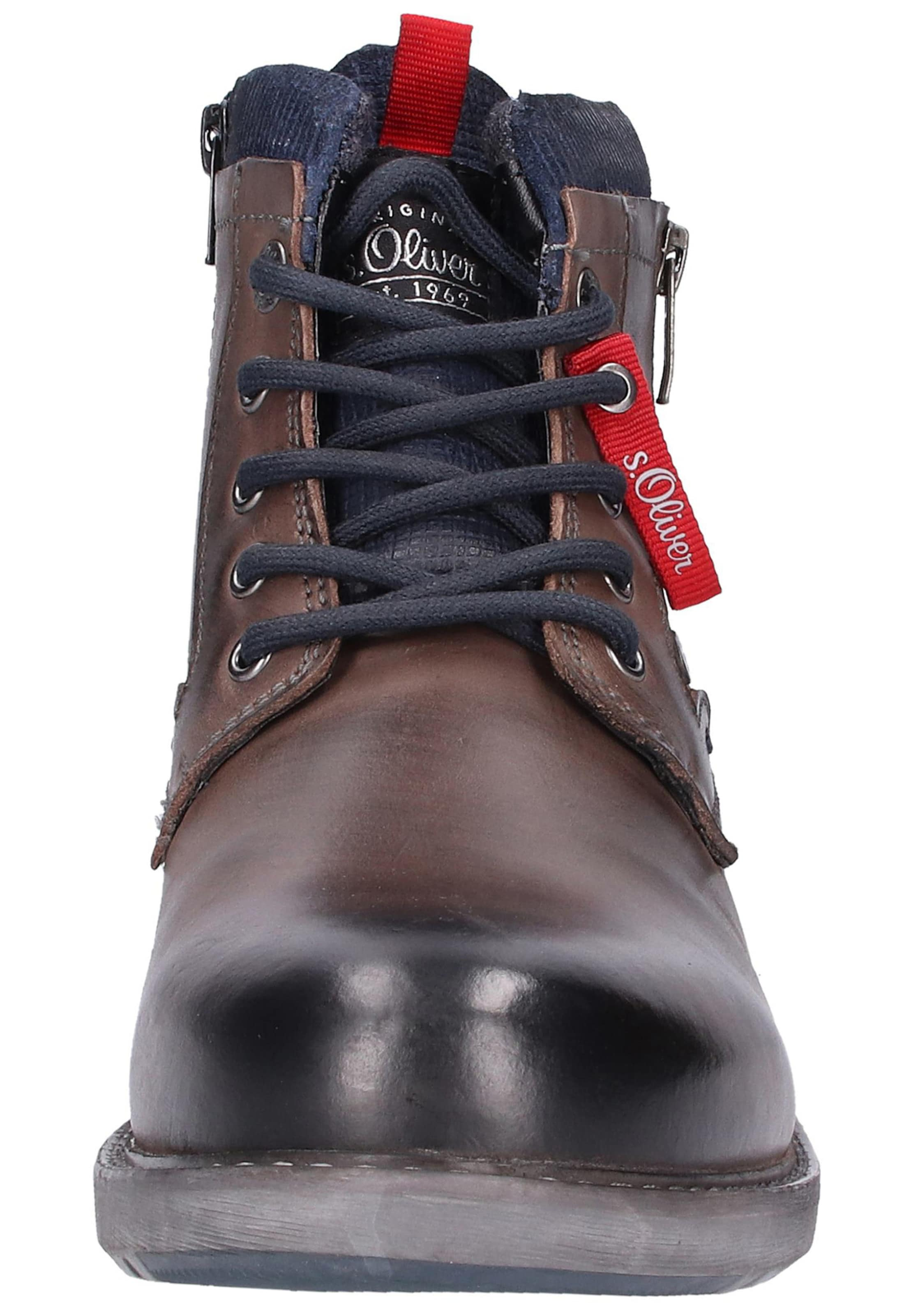 S Red Label À En Bottes Marron oliver Lacets PZwOlkXiuT