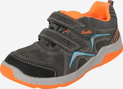 LURCHI Baskets 'Matthias-Tex' en gris / orange, Vue avec produit