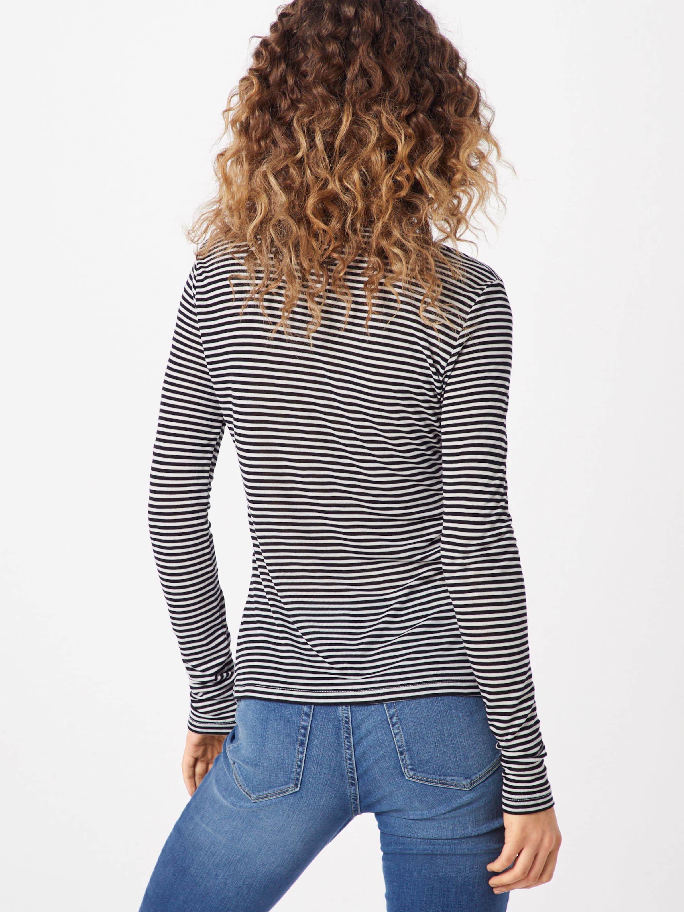 T shirt Mbym CrèmeNoir 'lilita' En Y6vbfg7y