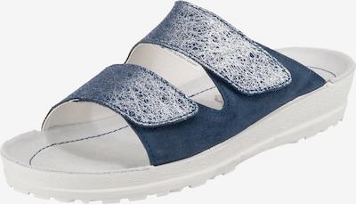 BECK Pantolette in blau / silber, Produktansicht