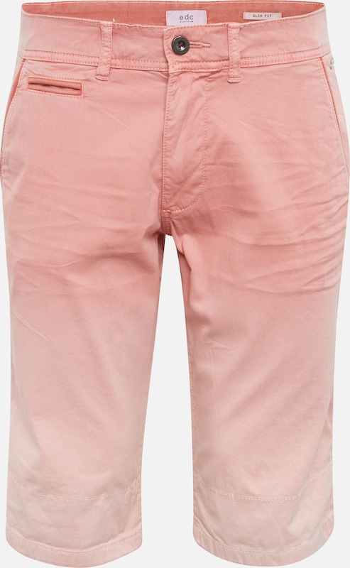'chino Edc Esprit Rose Pantalon Turn By Chino Shorts' En up PkXZuTOi