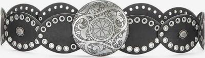 LASCANA Hüftgürtel in schwarz / silber, Produktansicht