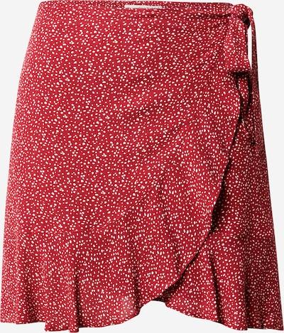 Abercrombie & Fitch Suknja u crvena / bijela, Pregled proizvoda