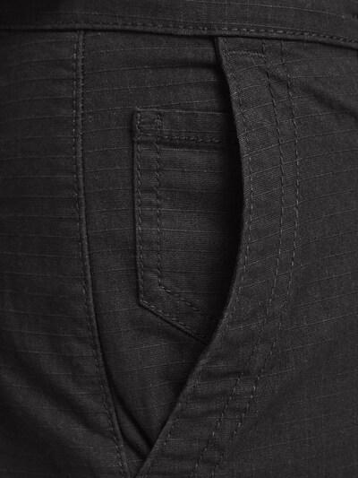 JACK & JONES Cargohose in schwarz, Modelansicht