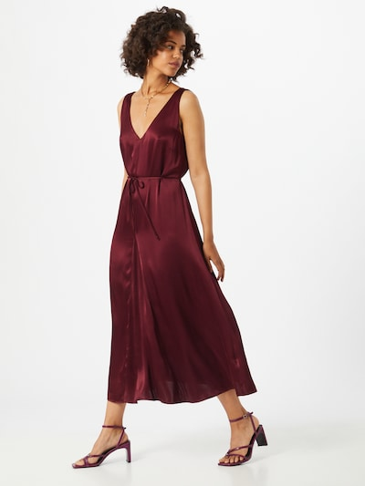 Soft Rebels Kleid 'Shania' in merlot, Modelansicht