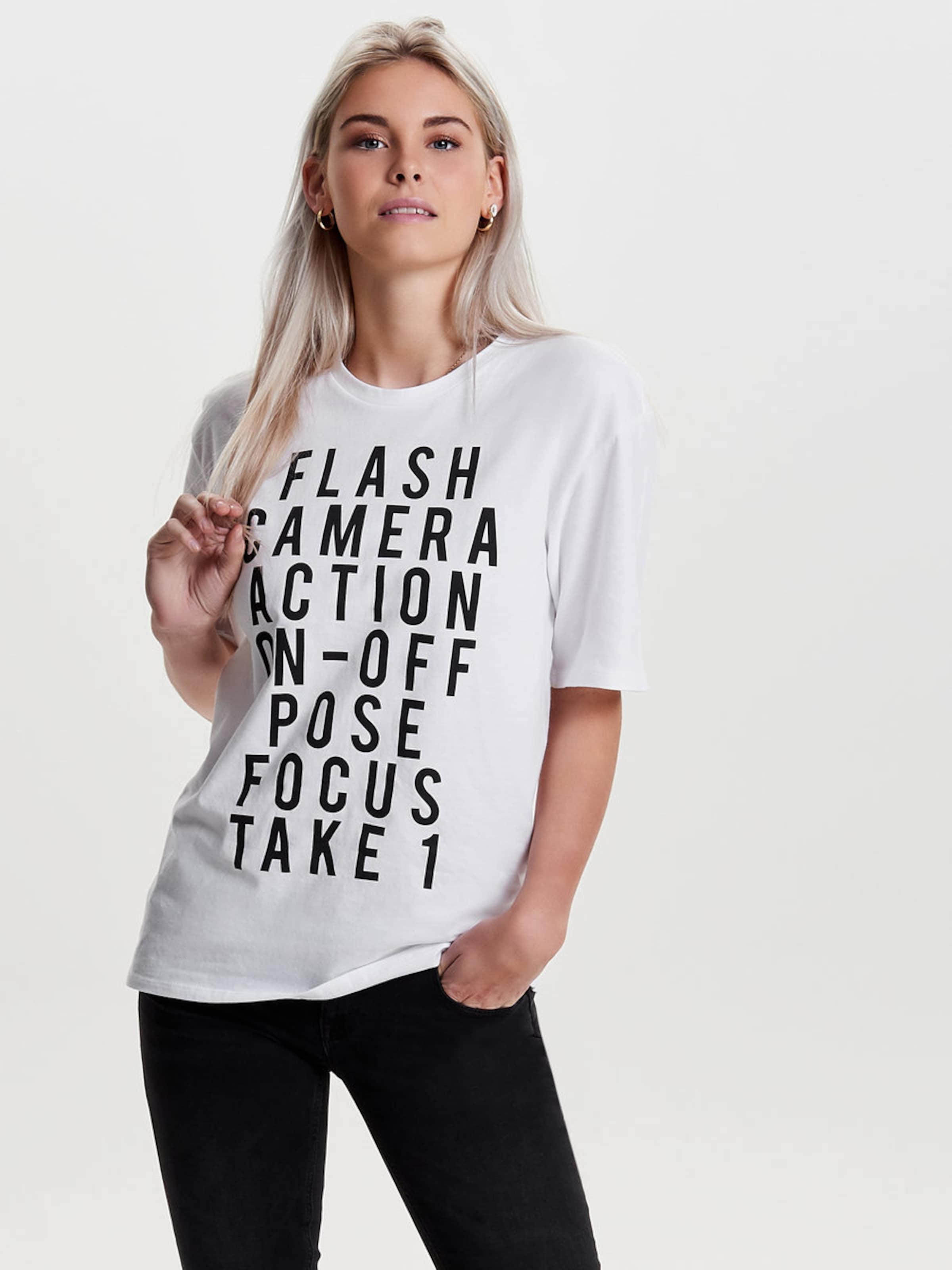 Einkaufen Genießen ONLY T-Shirt Mode-Stil Günstiger Preis Verkauf Sehr Billig Manchester Großer Verkauf Günstiger Preis JYCcYp5