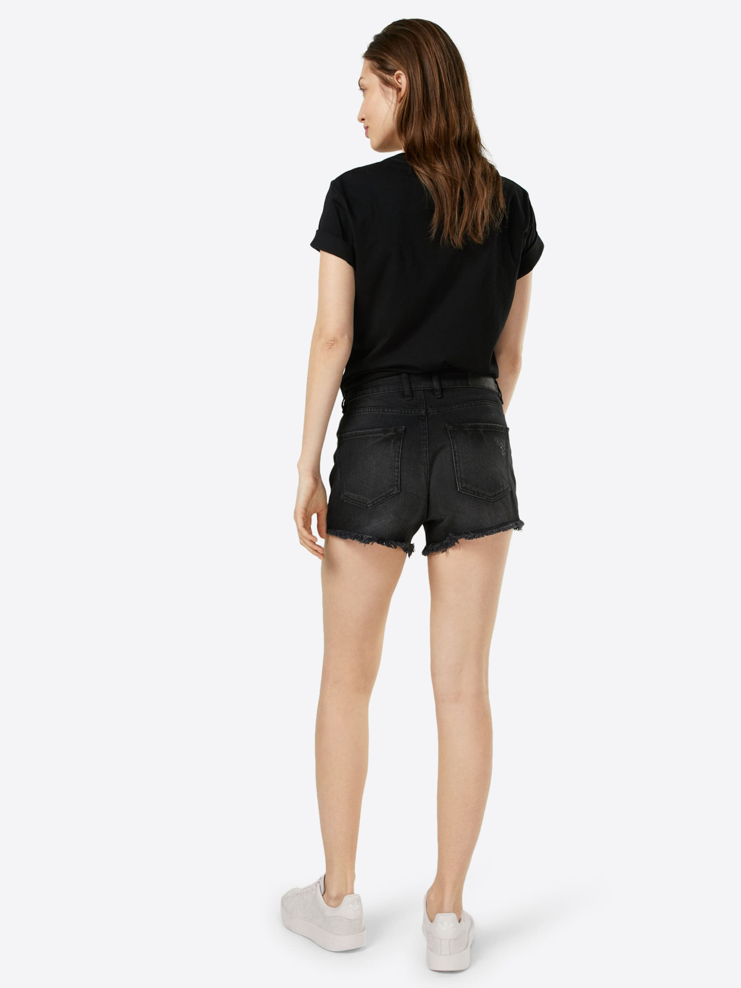 May In Black Noisy Denim Jeansshorts nw8Nm0