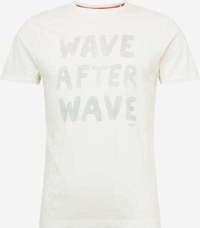 HKT by HACKETT T-Shirt 'WAVE AFTER WAVE' en blanc, Vue avec produit
