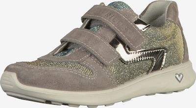 RICOSTA Sneaker in goldgelb / greige / jade: Frontalansicht