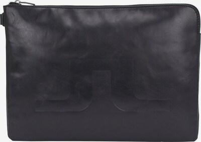 J.Lindeberg Sac d'ordinateur portable en noir, Vue avec produit