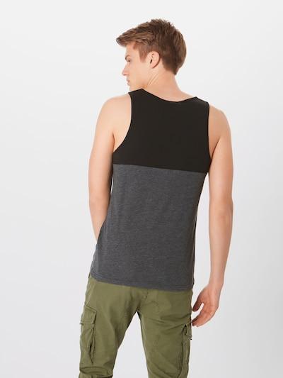 Iriedaily Trägershirt in dunkelgrau / schwarz: Rückansicht