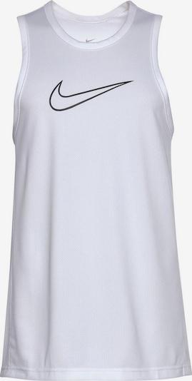 Tricou funcțional NIKE pe negru / alb, Vizualizare produs