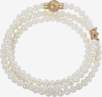 Sence Copenhagen Armband in gold / perlweiß, Produktansicht