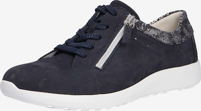 WALDLÄUFER Lace-Up Shoes in Cobalt blue / Grey / White, Item view