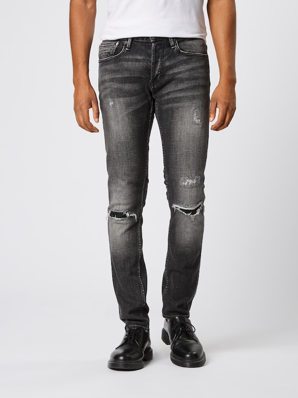 DENHAM Jeans 'BOLT BR' in black denim, Modelansicht